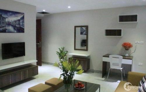 Chính chủ bán chung cư mini Chùa Láng 500tr/c đủ nội thất, view hồ
