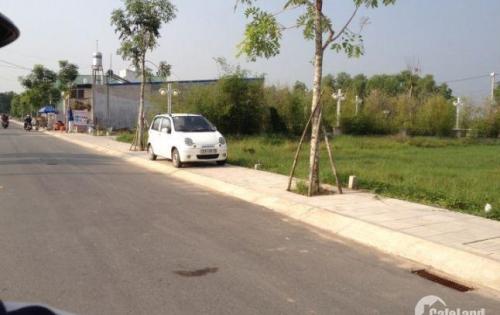 Bán gấp miếng đất thổ cư 5x20m gần công viên Võ Văn Tần ngay trung tâm Đức Hòa sổ riêng bao sang tên.