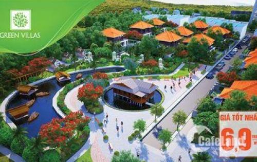 Đất nền dự án Green Villas - Sổ Hồng riêng.