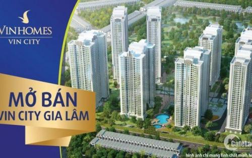 Mở bán chung cư Vincity Gia Lâm ,CĐT VinGroup tổng diện tích 420h bao gồm 66 tòa chung cư và 2000 căn thấp tầng