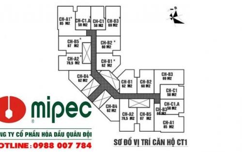 Dự án chung cư Mipec City View Kiến Hưng Hà Đông ra mắt tòa nổi trội nhất dự án