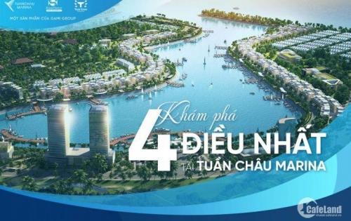Chỉ với 5 tỷ/Căn sở hữu ngay shophouse mặt cảng Tuấn Châu Marina LS0% trong 12 Tháng LH 0979374404