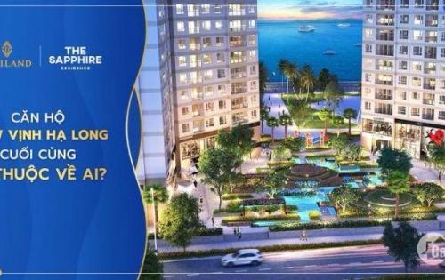 Sở hữu chung cư hạng A đầu tiên tại Quảng ninh view trọn Vịnh Hạ Long