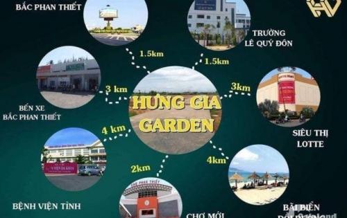 Bán đất nền KDC Hàm Thắng (Khu cá đồng) Hưng Gia Garden