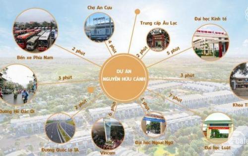 Đất nền thành phố - giá cả siêu mềm - kết nối thuận lợi - an cư dài lâu