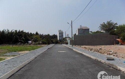 Bán gấp 7 lô đất MT Trần Văn Mười, Hóc Môn, DT 100m2, sổ hồng riêng, 800 triệu, hỗ trợ GPXD