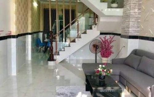 Bán nhà hẻm 2279 Huỳnh Tấn Phát, Nhà Bè, Tp.HCM DT 4m x 14m, 2 lầu, 4PN giá 3.4 tỷ