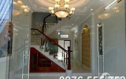 Nhà bán mặt tiền hẻm 2279 Huỳnh Tấn Phát, Kp 7, Xã Nhà Bè. DT 4m x 19m giá 4.5 tỷ