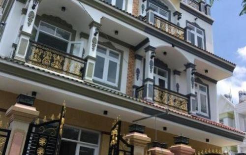 Nhà bán Huyện Nhà Bè, Nhà đẹp 5.8x15m, trệt 2 lầu, 5PN, 6WC, đường Huỳnh Tấn Phát, giá 4.8 tỷ
