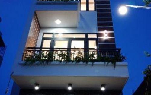 Cần Bán gấp nhà Huỳnh Tấn Phát, Nhà Bè, nhà sắp hoàn thiện, DT 68m2, 3 lầu, 4PN, 4.2 tỷ