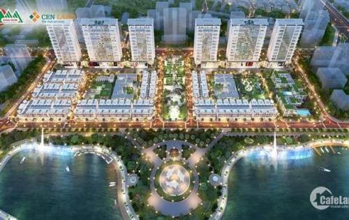 Liền kề shophouse Khai sơn - Long Biên, mở bán các lô view hồ 31 ha, LH: 01658240545
