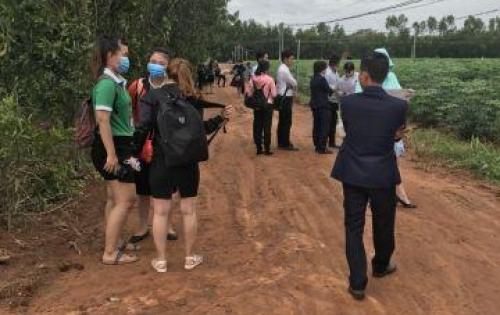 Đất nền Long Thành, Đồng Nai gần sân bay, DT 100m2 thổ cư 100%. Giá 300tr/nền có sổ riêng