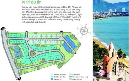 Marina Hill- Biệt thự đồi tại Nha Trang-trả trước 35%- trả chậm 5%/tháng ls 0%-ht vay 65%-0938463437