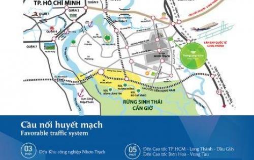 Dự án nhà phố vườn liền kề THANG LONG HOME Hiep Phước gần sân bay Long Thành giá từ 2.7tỷ đến 3.8tỷ