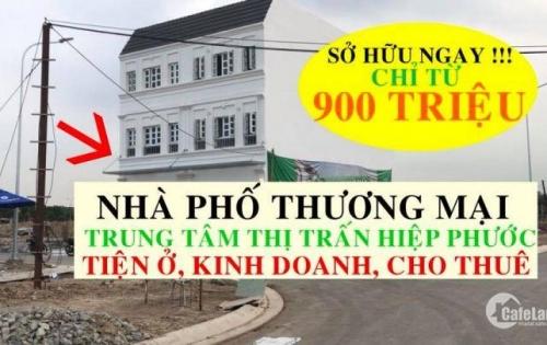Chỉ 900 triệu sở hữu ngay căn Shophouse mặt tiền đường 80m