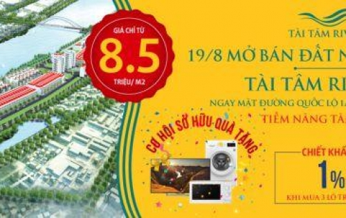 Tài Tâm Reverside – Cơ hội đầu tư sinh lời phía Nam Hà Nội.
