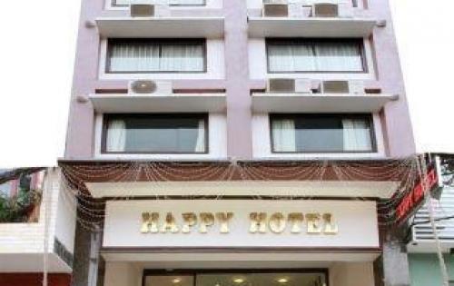 Bán gấp khách sạn 3*** mặt tiền đường Lê Lai, P Bến Thành, Q1. Hầm lửng 10 lầu, 54 phòng