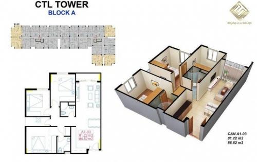 Mở bán chung cư căn hộ CTL Tower - Tham Lương. Vị trí vàng trên mặt tiền đường Dương Thị Giang