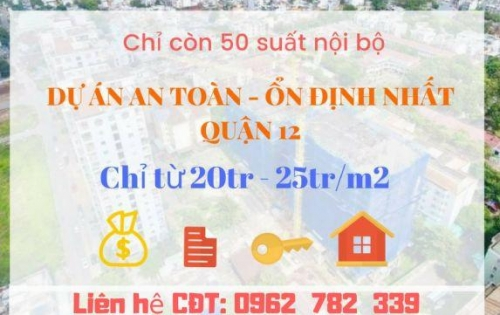 Căn hộ Centeria quận 12, giá 1,2 TỶ / CĂN 2PN 55M2 dành cho các cặp vợ chồng son, thu nhập trung bình khá.