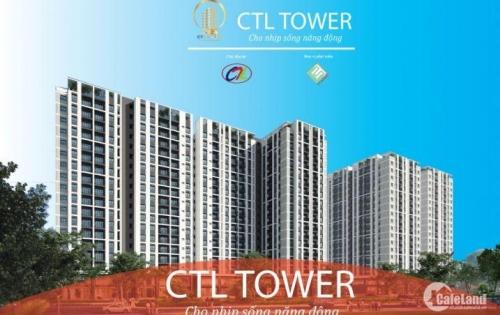 Dự án mới CTL Tower quận 12 còn những suất cuối cho đợt 2, nhiều ưu đãi về giá 0932059747
