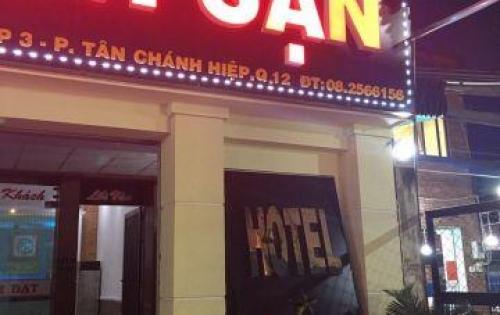 Bán gấp khách sạn mới xây 100% MT đường Nguyễn Ảnh Thủ, quận 12, 5x31m, 6 tầng, giá bán 15 tỷ TL