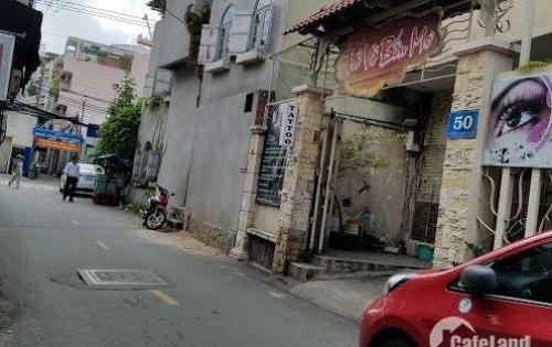 Nhà đẹp lung linh đường Hai Bà Trưng, P 8, Q3, hẻm xe tải 6m, nằm ngay trung tâm chợ Tân Định. dt 4x14m, 1 trệt, 2 lầu, giá 9,4 tỷ