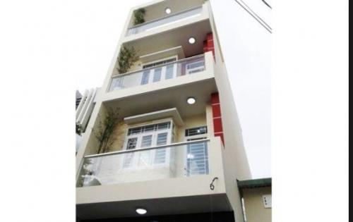 Chính chủ cần bán Nhà DT:110m2  Q 3 F 8 nhà 3 tầng nở hậu 8,5 Giá  4ti63