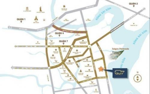 Bán nhanh đầu tư chung cư 2 phòng ngủ Q7 saigonriverside