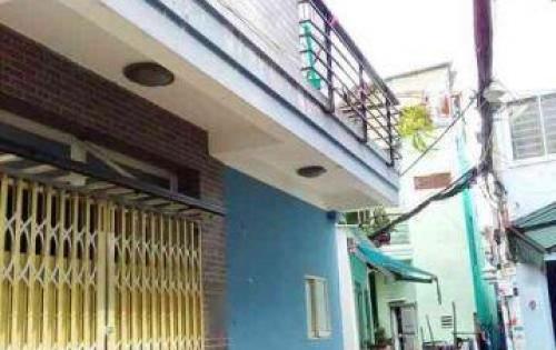 Nhà 1 trệt 1 lầu  Hẻm 675 Trần Xuân Soạn, P. Tân Hưng, Quận 7.