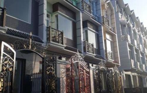 Nhà phố quận 8 mặt tiền đường Lê Hữu Phước 20m
