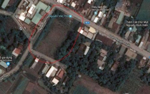 Cần bán gấp lô đất ở Bình Chánh góc 3 mặt tiền đễ trả nợ ngân hàng. LH:01626221551
