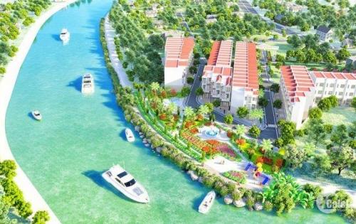 Nhà phố 1 trệt 2 lầu, khu dân cư mặt tiền sông Rạch Chiếc, Nguyễn Duy Trinh Q9