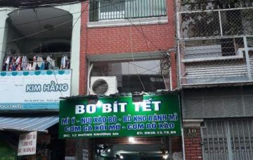 Bán nhà mặt tiền kinh doanh gần chợ Gò Vấp, DT sử dụng 183m2, 3 tầng – giá bán 5.8 tỷ (tl)
