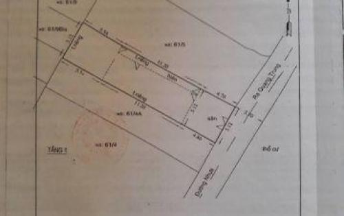 Bán nhà sát mặt tiền đường Quang Trung, phường 10, Gò Vấp, dt 112m2 giá 9,1 tỷ.