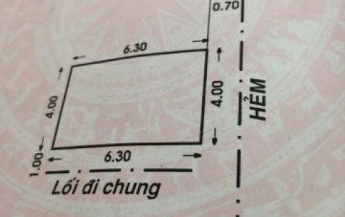Cần tiền Bán rẻ nhà hẻm 90 Nguyễn Phúc Chu, P15, Quận Tân Bình