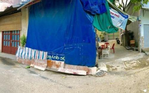 Bán nhà góc 2 mặt tiền tây sơn tân phú 4,30 x 11m (nở hậu 7m) sạch lộ giới 4ty
