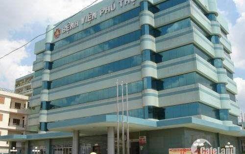Bán bệnh viện ĐK Phú Thọ DT: 7640 m2 298 Độc Lập,  Tân Phú.