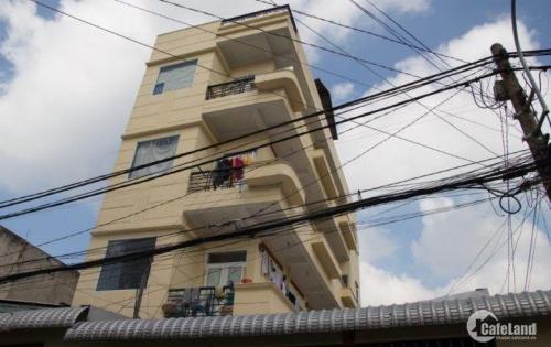 Cần vốn KD bán toà nhà cho thuê 1 trệt 3 lầu, gồm 16 phòng cho thuê