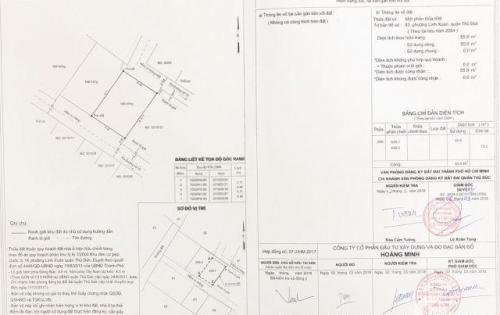 Nhà chuẩn bị xây Thủ Đức đường 10, 1 trệt 1 lầu, 36tr/m2, ngang 6.4, dài 8.5