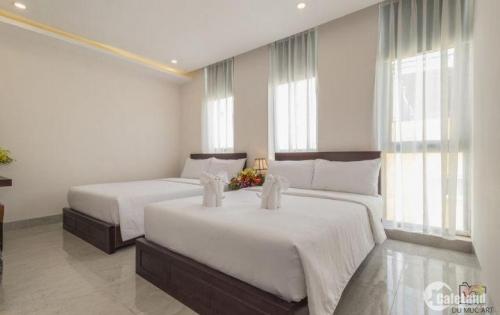 Bán khách sạn đường Phước Tường , Sơn Trà, Đà Nẵng  . 4 tầng , 21 phòng , cách bãi tắm Cá Voi 50m , Cách quảng trường Phạm Văn Đồng 500m