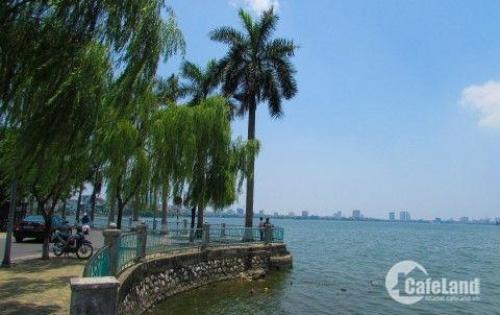 Chính chủ bán nhà mặt hồ Nguyễn Đình Thi, đắt giá nhất Hồ Tây kinh doanh cực đỉnh giá sốc.