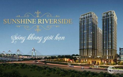 Sunshine Riverside Tây Hồ, hưởng thụ cuộc sống cao cấp thực sự chỉ với 2.3 tỷ / 2PN / 72 m2. ck đến 300tr.