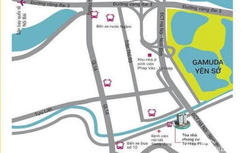 Dự Án chung cư Tứ Hiệp Plaza chỉ với 1,6 tỷ có ngay căn hộ 84m2 vào ở ngay LH: 0942675497