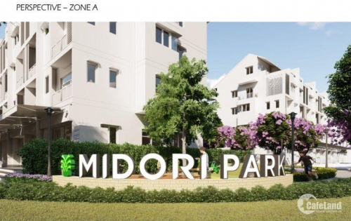 CĐT Becamex Tokyu bán nhà phố vườn Midori Park trả góp 5 năm