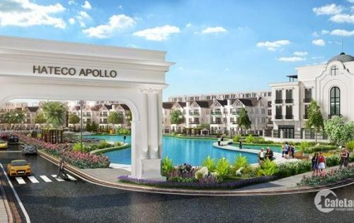 Tại sao mọi khách hang đều tìm mua căn hộ của dự án hateco Apollo Xuân Phương, giá chỉ 2,2 tỷ căn hộ 3PN, 2WC