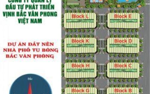 Sở hữu ngay đất nền khu dân cư Tu Bông Vịnh Bắc Vân Phong, giá từ 18.000.000đ/m2.