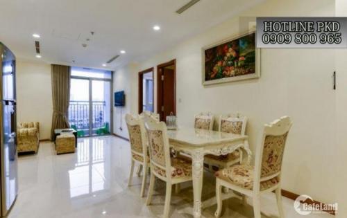 Cho thuê CH Vinhomes- 1PN đầy đủ nội thất- 54m2- view sông Sài Gòn- 17.5tr/tháng LH: 0909800965