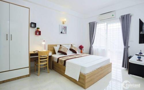 cho thuê căn hộ đủ đồ, đủ dịch vụ đường Nguyễn Thị Định giá 8,2tr/th