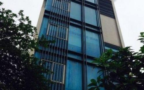 Cho thuê nhà mặt phố Thọ Tháp Cầu Giấy 89m2 mặt tiền 7,5m có ĐH thang máy