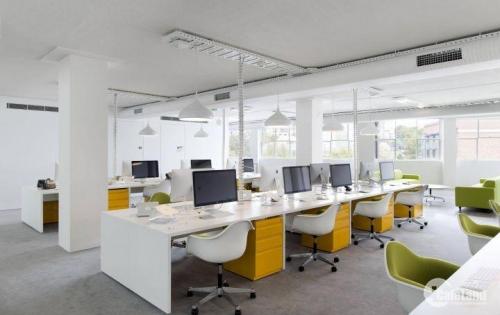 Cần cho thuê  gấp 80m2 văn phòng  phố Duy Tân, trung tâm Cầu Giấy,mặt tiền 7m .